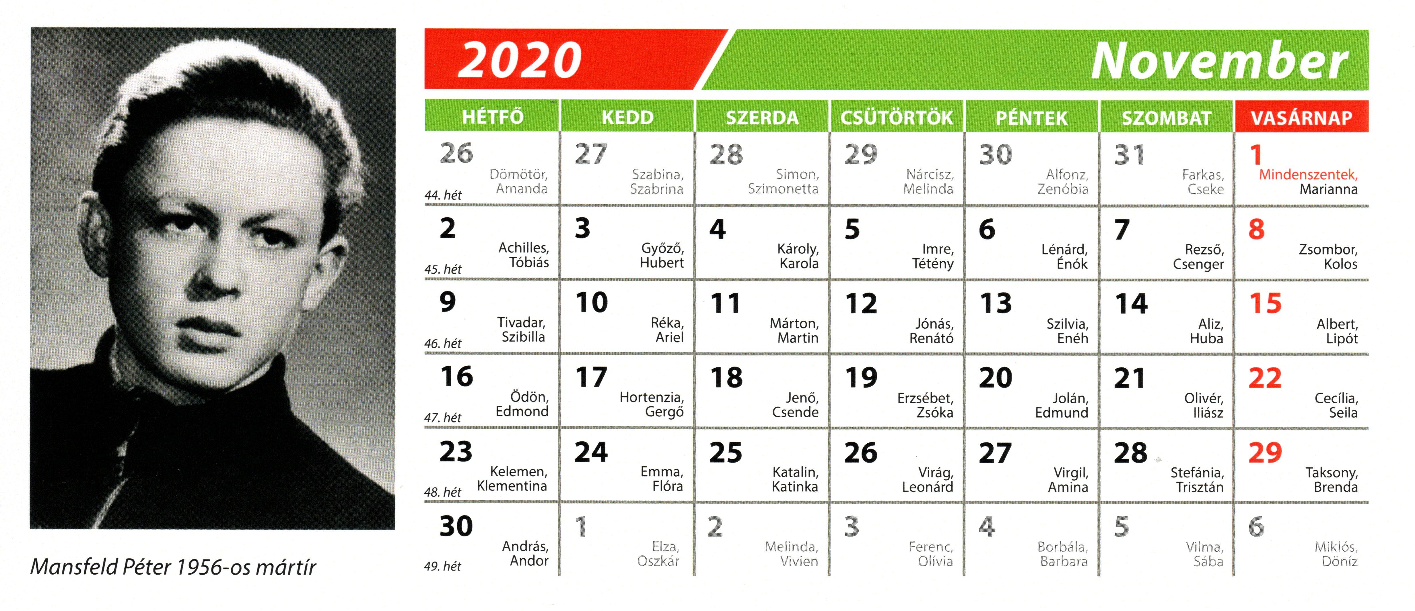 1956-MN-2020-évi-naptár-11-november