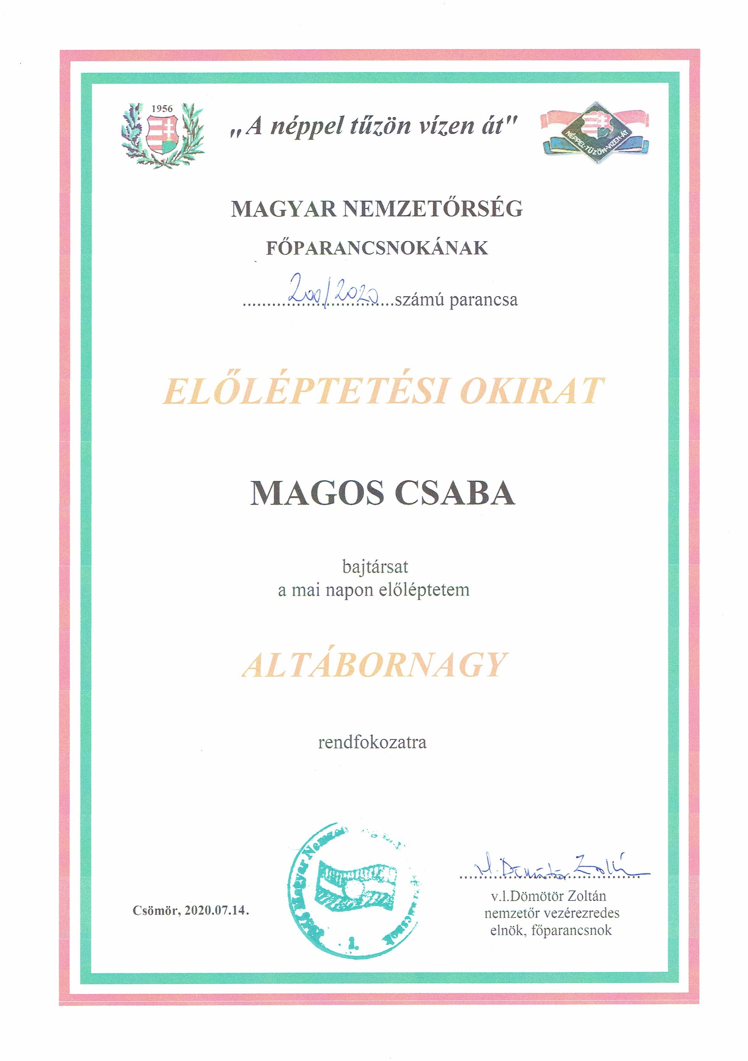 ELŐLÉPTETÉSI-MAGOS-CSABA-ALTÁBORNAGY