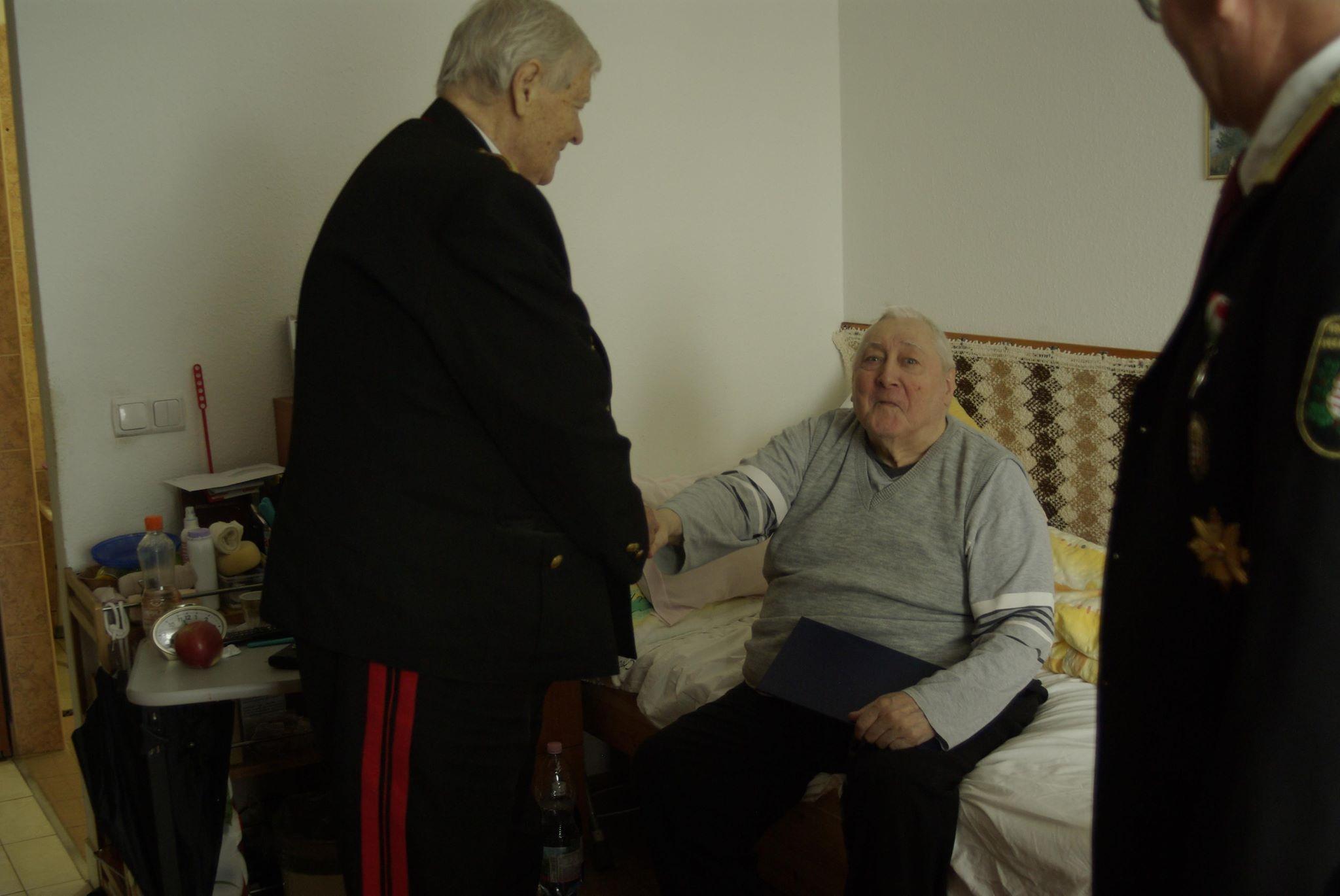 F. Molnár Sándor előléptetése2