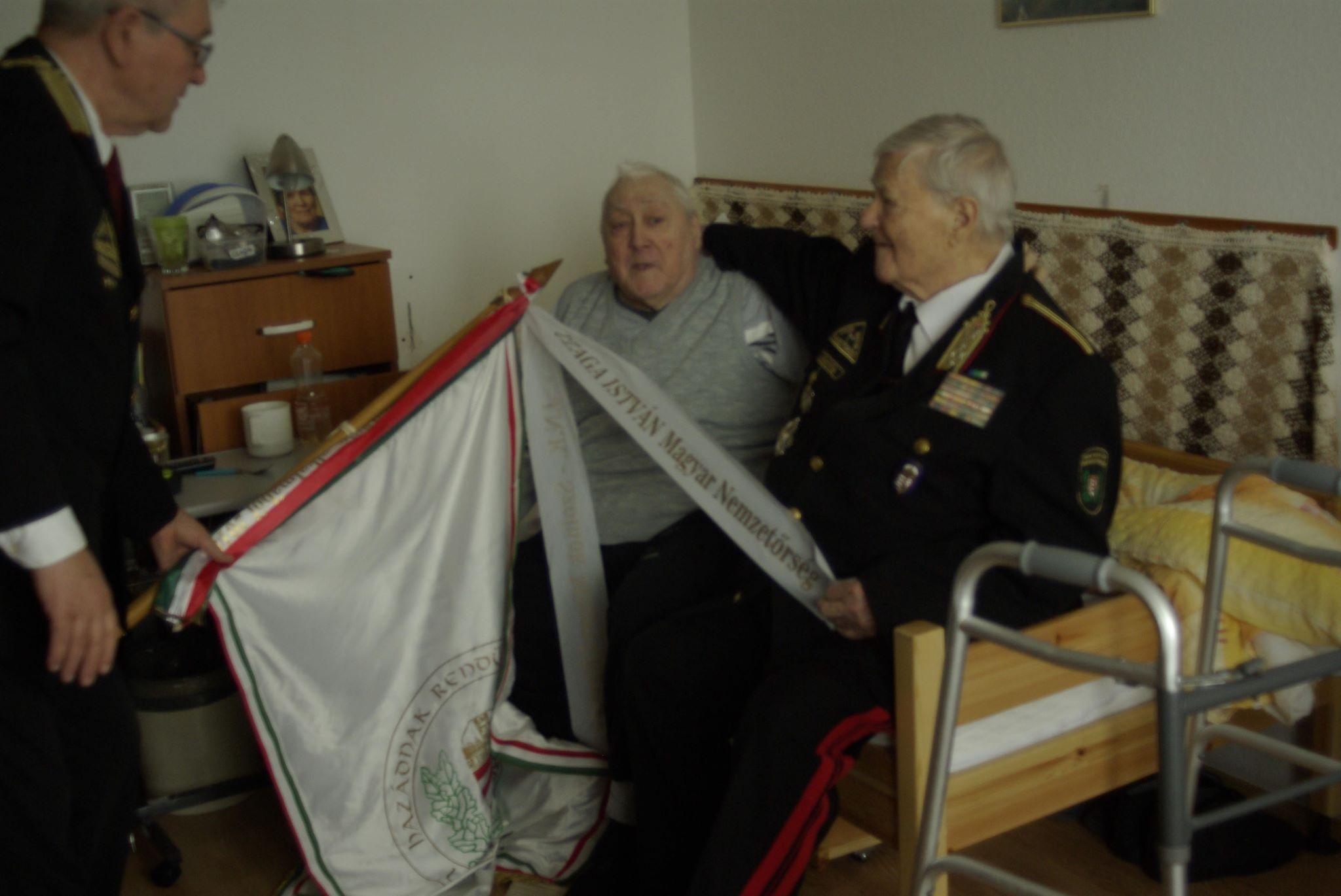 F. Molnár Sándor előléptetése7
